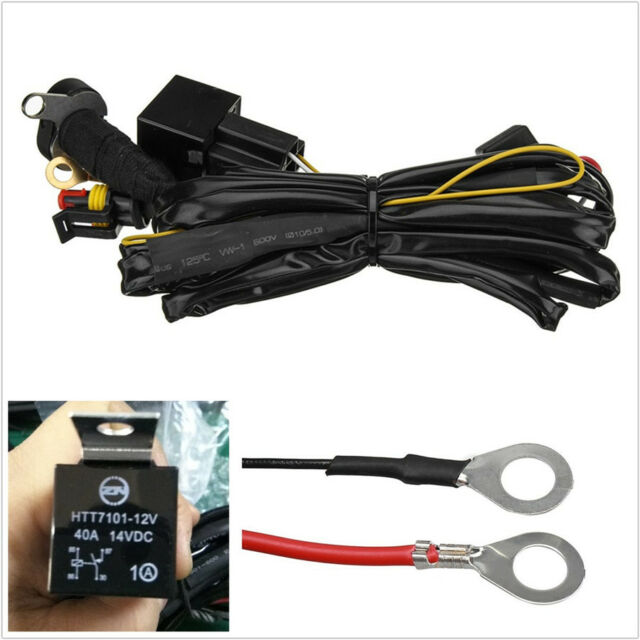 Cool Professional Motorcycle Led Fog Lights Wiring Harness Switch For Zipur Mohammedshrine Wiring Diagrams Zipurmohammedshrineorg