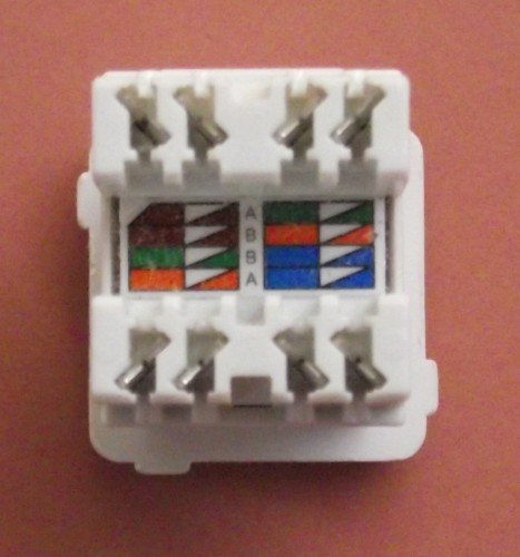 Superb Terminating Cat5E Cable On A Jack Wall Mount Or Patch Panel Zipur Mohammedshrine Wiring Diagrams Zipurmohammedshrineorg