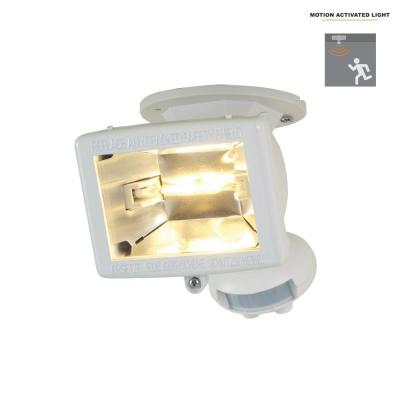 Excellent Defiant 1100 White Motion Activated Outdoor Flood Light Dfi 5415 Wh Zipur Mohammedshrine Wiring Diagrams Zipurmohammedshrineorg