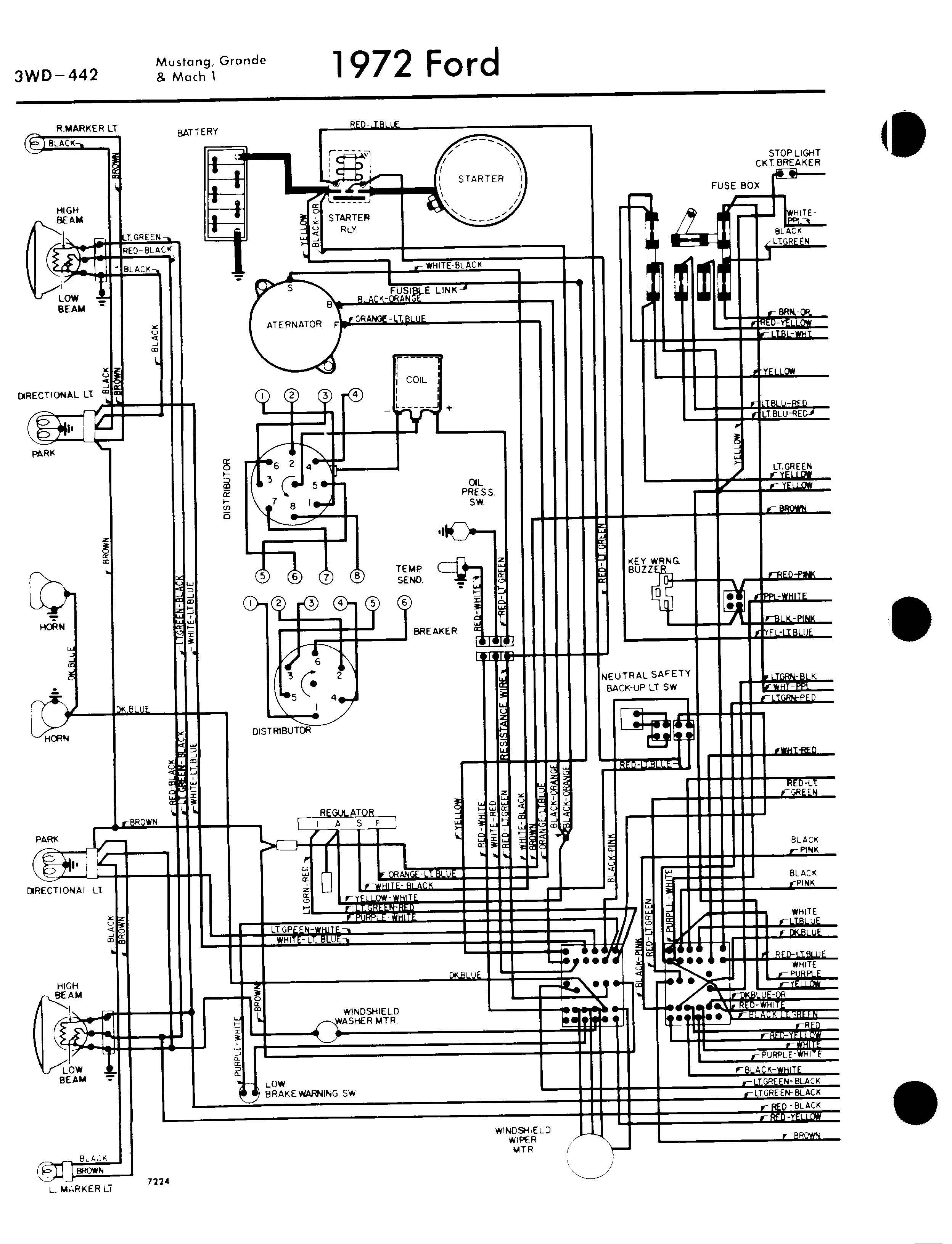 Fantastic Harness Diagram Ford Mustang Ignition Switch Wiring Diagram 1973 Zipur Mohammedshrine Wiring Diagrams Zipurmohammedshrineorg