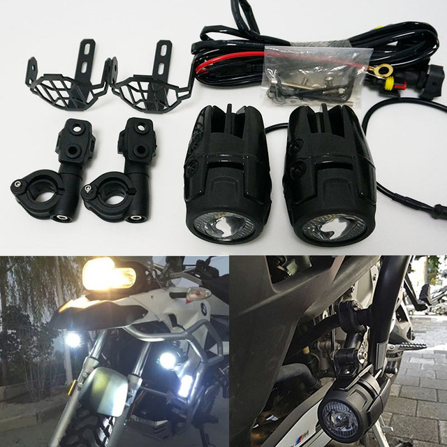 Phenomenal Led Auxiliary Lamp Motorcycle Fog Lights Driving Light Kits With Zipur Mohammedshrine Wiring Diagrams Zipurmohammedshrineorg