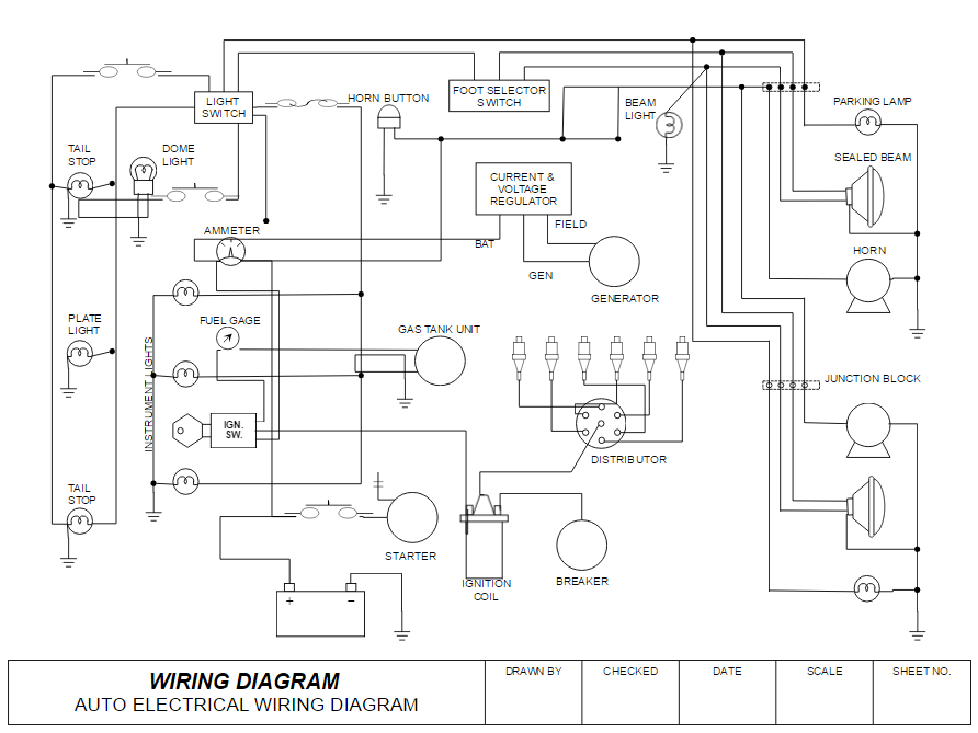 Amazing How To Draw Electrical Diagrams And Wiring Diagrams Zipur Mohammedshrine Wiring Diagrams Zipurmohammedshrineorg