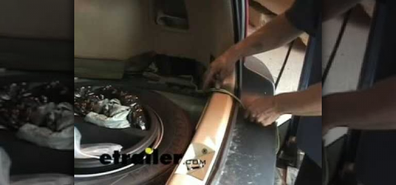 Phenomenal How To Install A Trailer Wiring Harness On A Subaru Forester Car Zipur Mohammedshrine Wiring Diagrams Zipurmohammedshrineorg