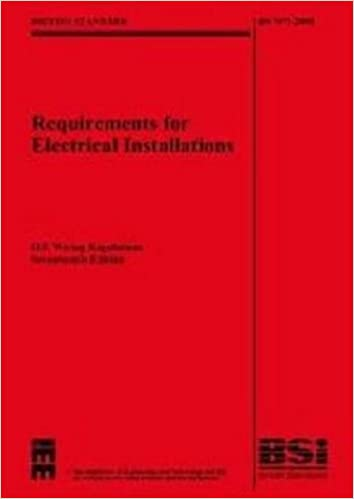 Swell Iee Wiring Regulations 17Th Edition Bs 7671 2008 With Bs7671 Zipur Mohammedshrine Wiring Diagrams Zipurmohammedshrineorg