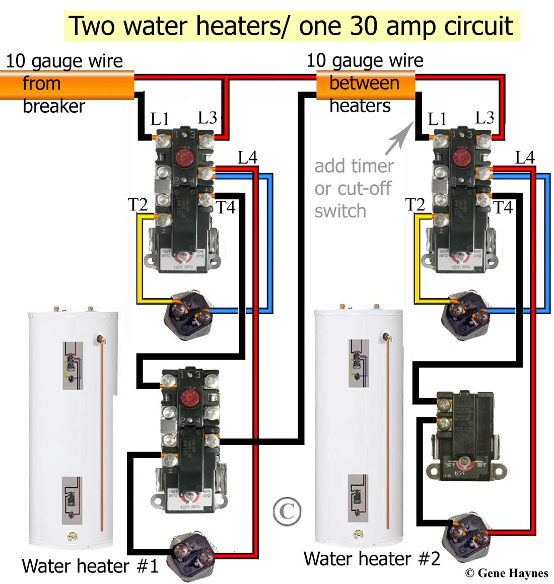 Surprising How To Wire Water Heater Thermostats Zipur Mohammedshrine Wiring Diagrams Zipurmohammedshrineorg