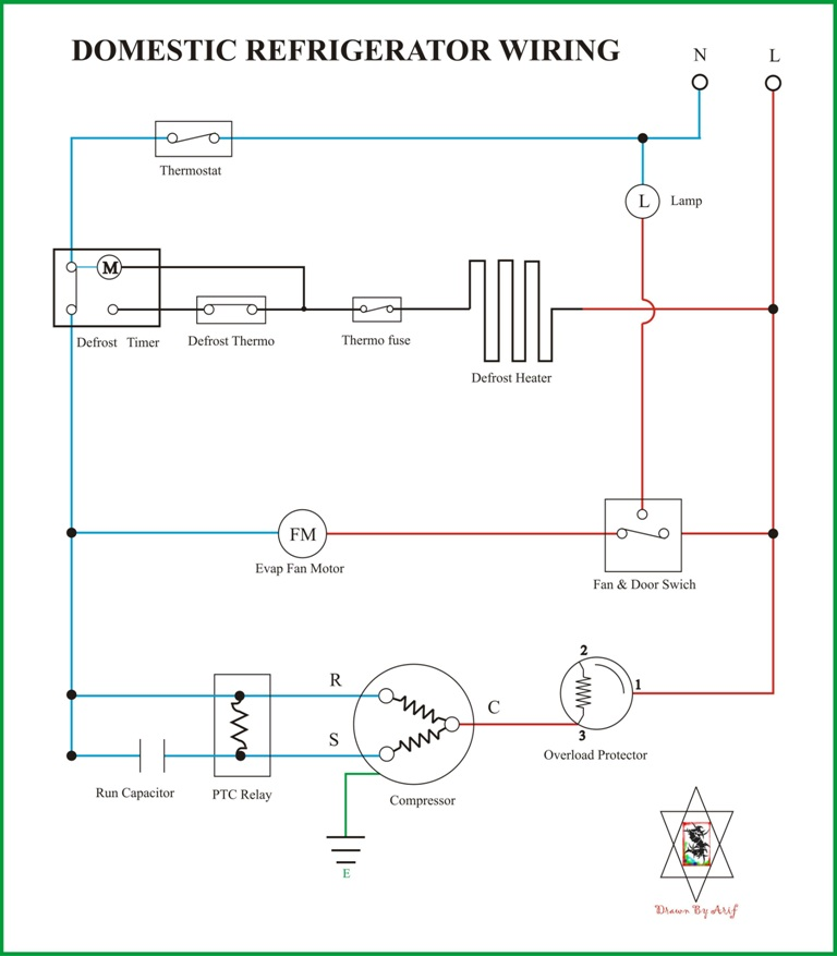 Superb Simple Wiring Diagram Refrigerator Basic Electronics Wiring Diagram Zipur Mohammedshrine Wiring Diagrams Zipurmohammedshrineorg