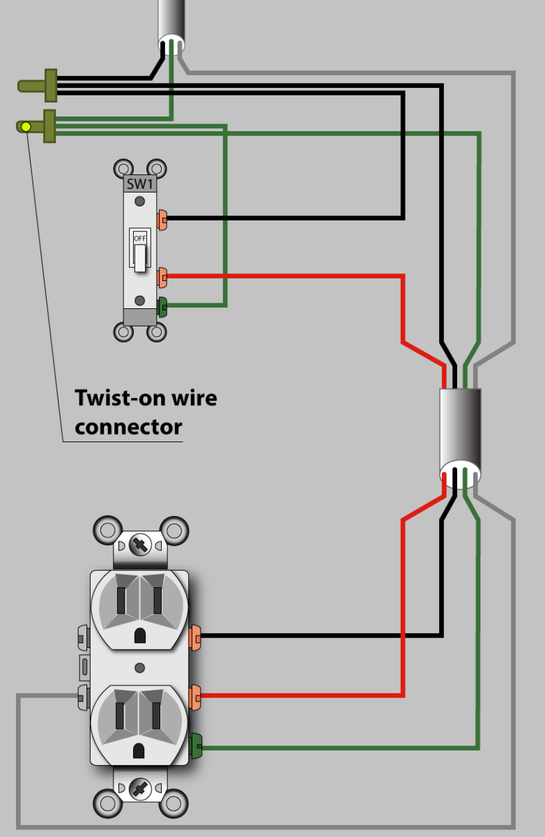 Excellent How To Wire An Outlet To A Switch Diagram Basic Electronics Wiring Zipur Mohammedshrine Wiring Diagrams Zipurmohammedshrineorg