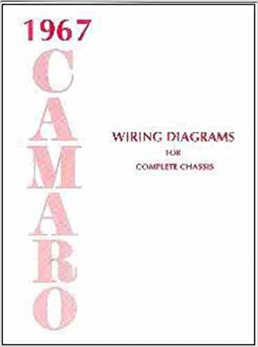 Excellent 1967 Camaro Complete Set Of Factory Electrical Wiring Diagrams Zipur Mohammedshrine Wiring Diagrams Zipurmohammedshrineorg